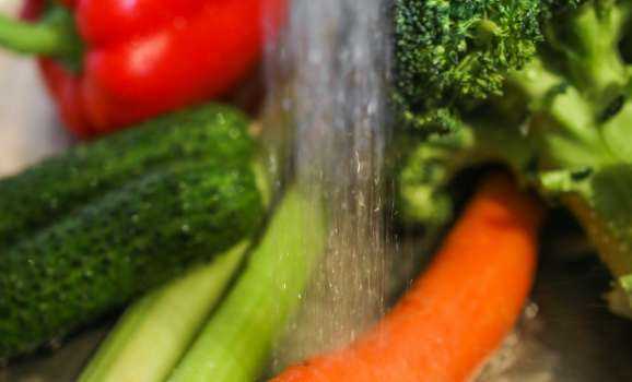 Washing Produce with Soft Water